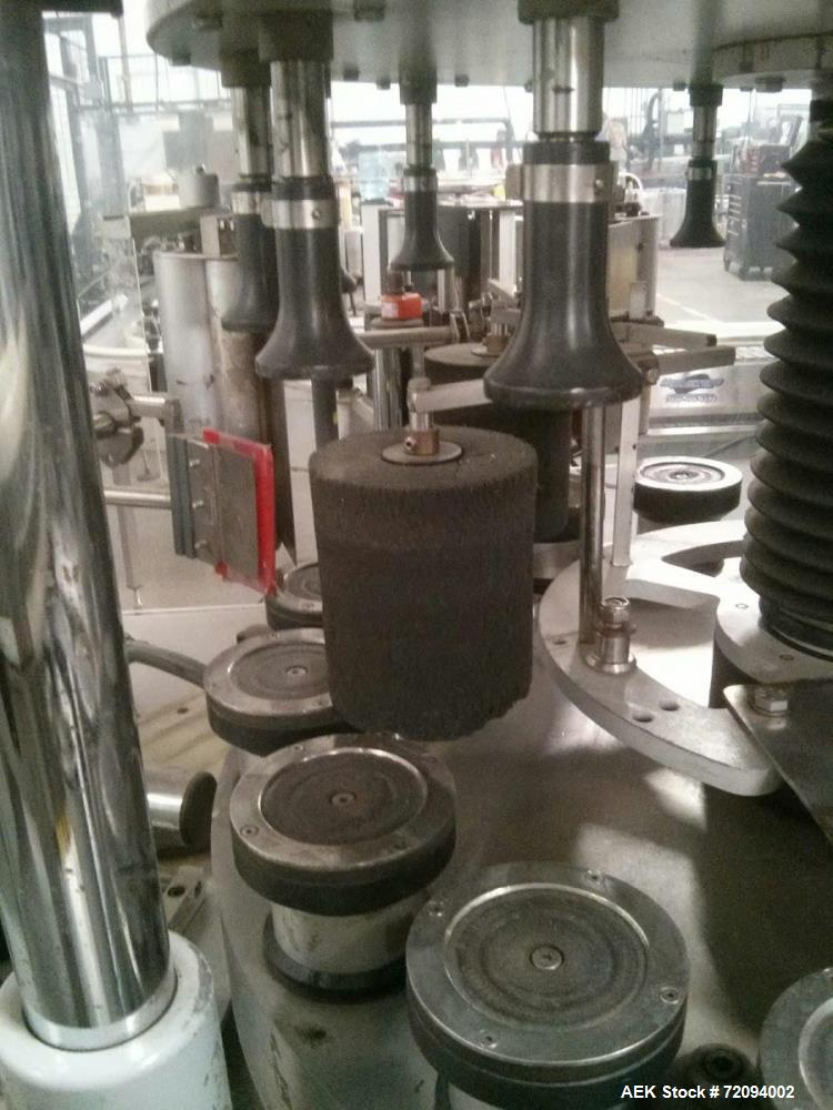 Used- Newtec Leopard Inline Pressure Sensitive Labeler