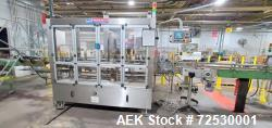 Used-P.E. Rotary Pressure Sensitive Labeling System