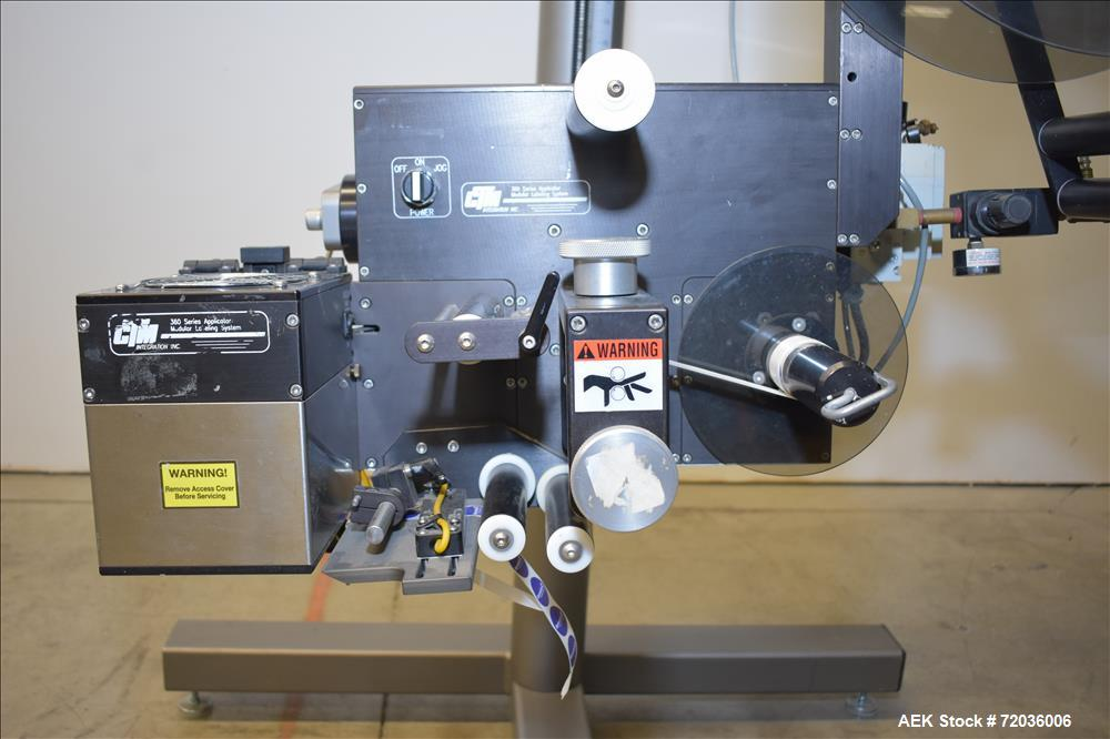 USED: CTM Apply Spot Labeler, 360 Series Applicator.