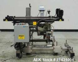 Used- Label-Aire Hugger Belt System Bottom Labeler