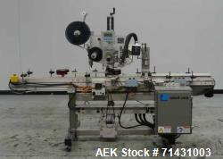Used- Label-Aire Model 6114 Pressure Sensitive Top Labeler