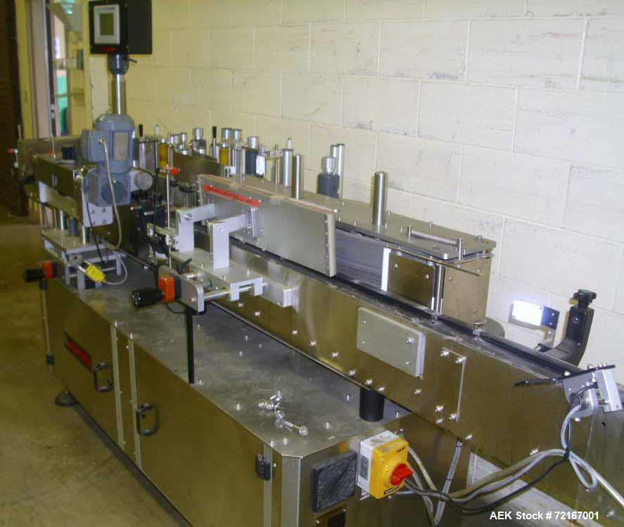 Used- Impresstik Fully Automatic Pressure-Sensitive Labeller