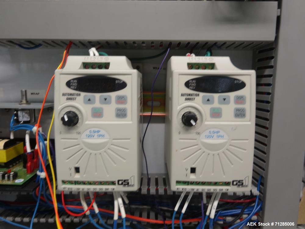 Used- LSI (Labeling Systems Inc) Model 1500 Wrapa