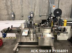 Used- Ketan LS3PW-W Three Panel and Round Product Labeling System.