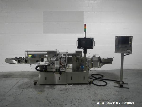 Used- New Jersey Wrap Around Labeler, Model 334RSTP