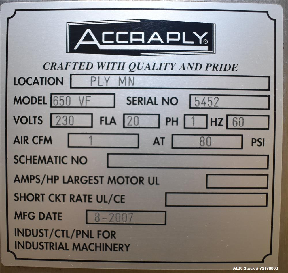 "Used- Graham Packaging ""Sleevit"" Sleeve Labeler with Steam Shrink Tunnel"