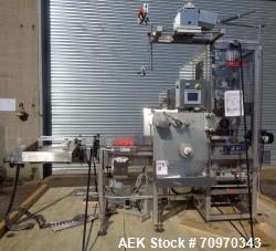 Used- Accraply (Barry Wehmiller) Model RF150 High Speed Shrink Sleeve Labele