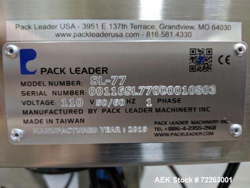 Unused- Pack Leader Stand Alone Sleeve Applicator