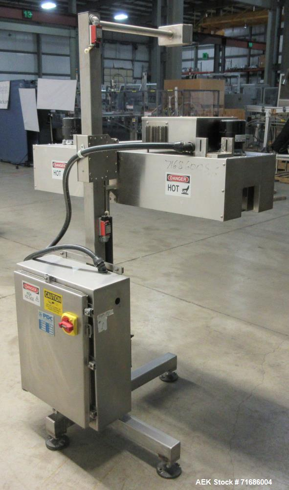 Used- PDC Model 75-ERT Shrink Sleeve Labeler