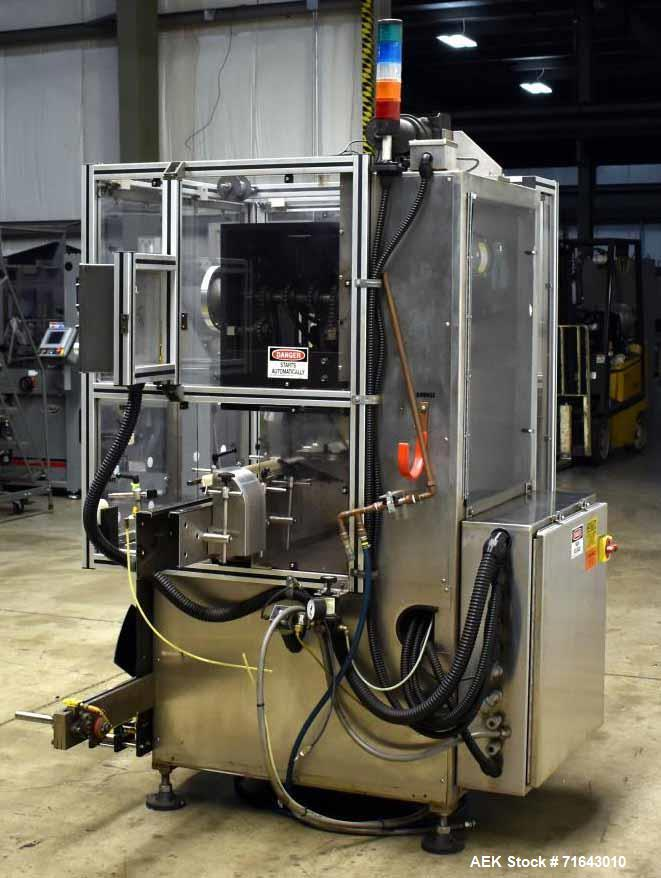 Used- PDC Model 75-M2 Shrink Sleever/Tamper Evident Neck Bander