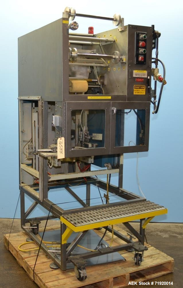 Used- Sterling Manufacturing Stretch Sleeve Label Applicator, Model 1000