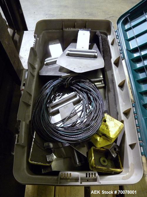 Used- Styrotech Automatic Polysleeve Stretch Sleeve Applicator, Model ST-6080