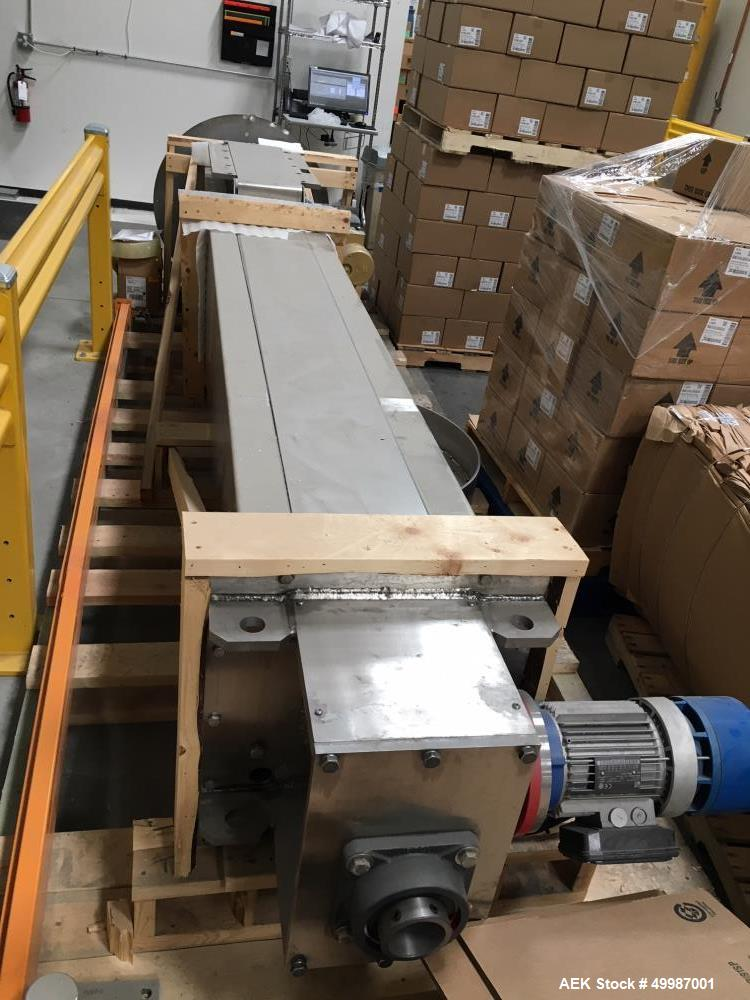 Used- Custom Powder Systems Tote Lift, Model 611041