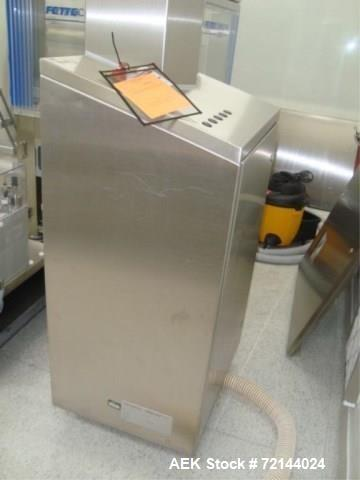 Used- L.B. Bohle Lifts HS1000 Lift and Rotate Bin Handler, 1000 kg Max. Load Capacity, Stainless Steel Product Contact Surfa...