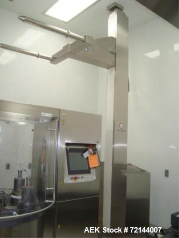 Used-L.B. Bohle Lifts HS-800 Pharmaceutical Tote Lift Column,  800 KG Max. Capacity, Stainless Steel Product Contact Surface...