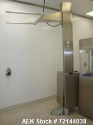 "Used- L.B. Bohle Lifts HS-250 Pharmaceutical Tote Lift Column. 250kg Max. Capacity, Approx. Max. Reach 94"" in. Height. All S..."