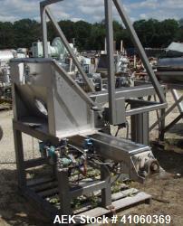 Used- Custom Metal Craft Tote Tilt Discharge Station