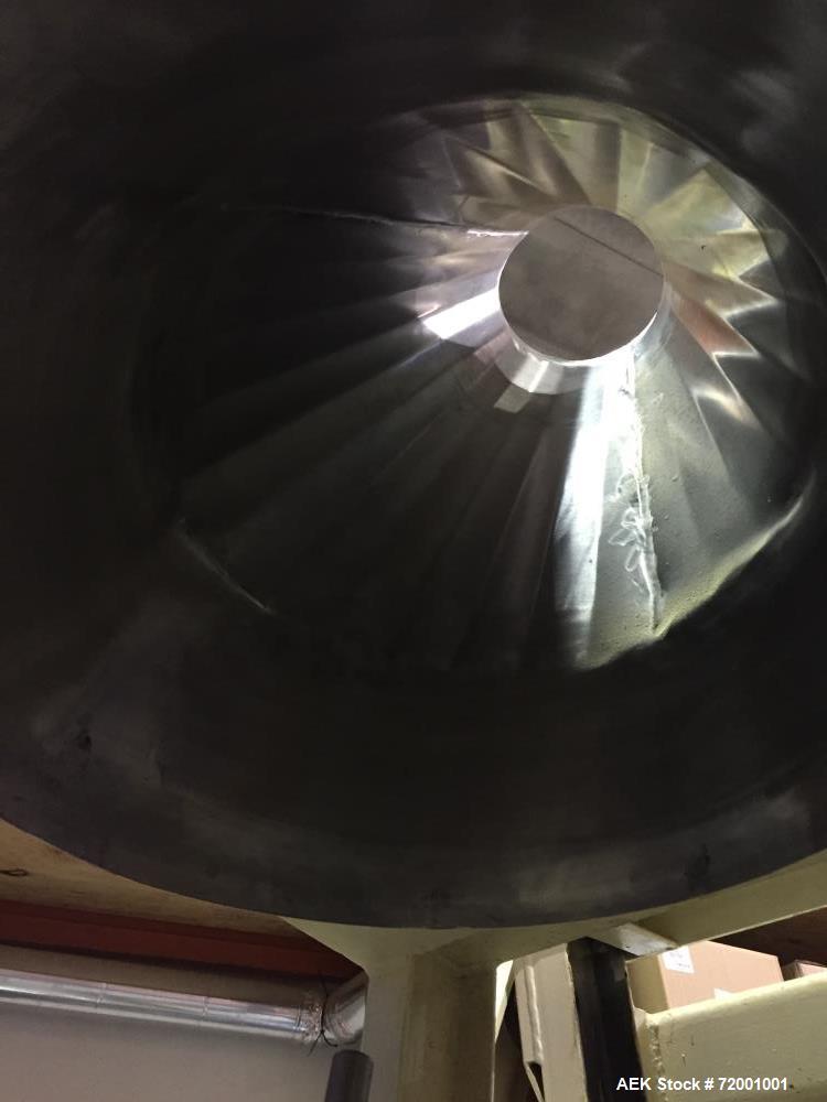 Used- Tubar Hydraulic Drum Dumper, Model THD.
