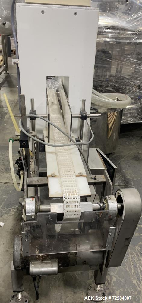 Used- Lock Inspection Systems Conveyor Mounted Metal Detector