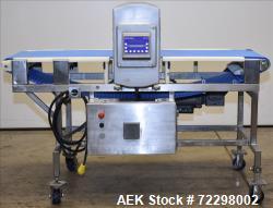 Used- Mettler Toledo Safeline Conveyor Mounted Metal Detector, Model PPH/20x10/S