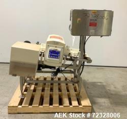 "Mettler Toledo Safeline SL2000 Metal Detector. Aperature approximate 13-7/8"" wide x 4-3/8"" tall. Ai..."