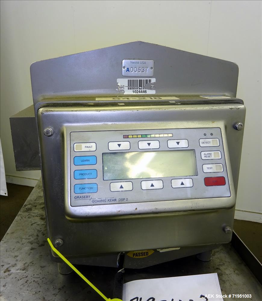 Used- Graseby / Goring Kerr TEK DSP II Metal Detector