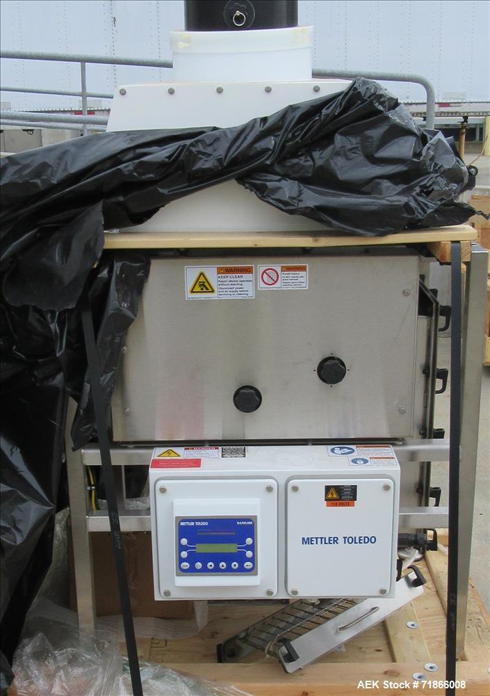 Used- Safeline Metal Detector, Pipeline-Free Flowing