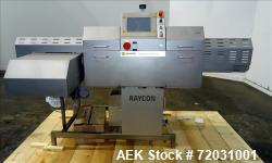Used-Sesotec Raycon X-Ray Food Inspection System, Type 450/100 US-INT 50.  Serial # 10007941-X.  Max Product Dimensions; 450...