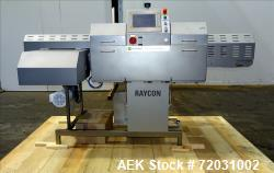 Used-Sesotec Raycon X-Ray Food Inspection System, Type 450/100 US-INT 50.  Serial # 10007944-X.  Max Product Dimensions; 450...