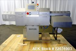 Used-Sesotec Raycon X-Ray Food Inspection System, Type 450/100 US-INT 50.  Serial # 10007945-X.    Max Product Dimensions; 4...