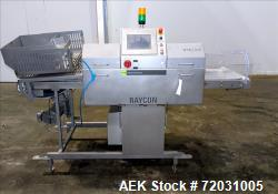 Used-Sesotec Raycon X-Ray Food Inspection System, Type 450/100 US-INT 50.  Serial # 11421018293-X.   Max Product Dimensions;...