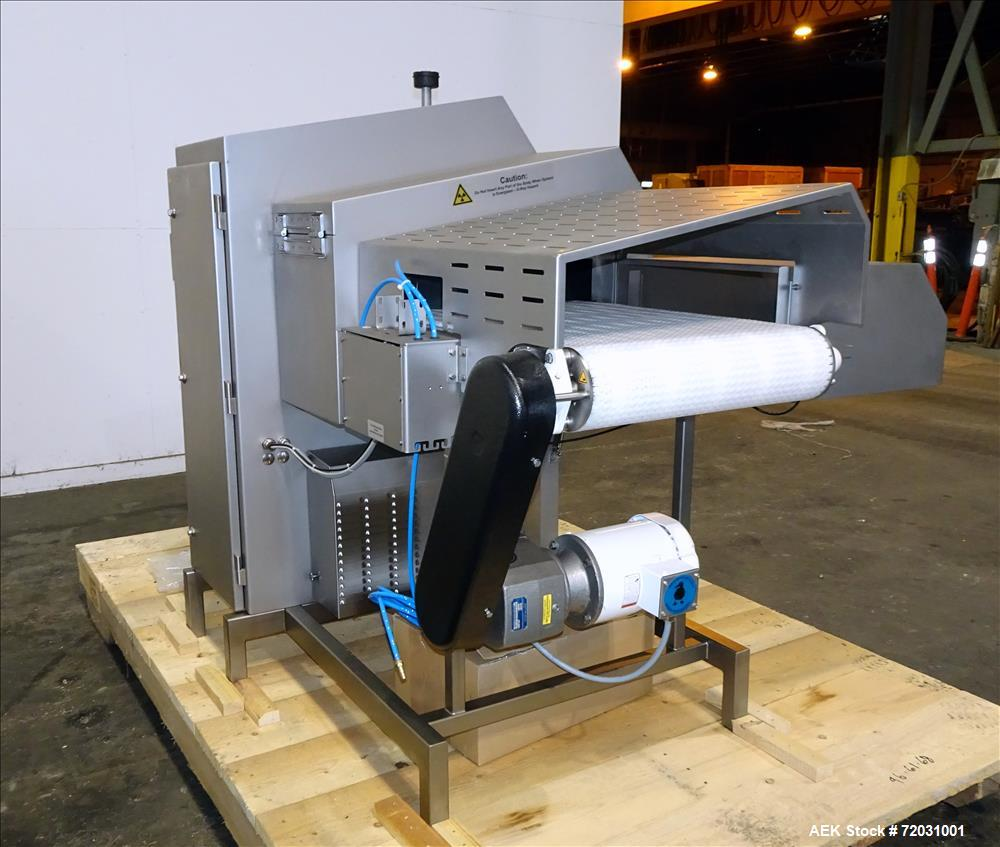 Never Used-Sesotec Raycon X-Ray Food Inspection System, Type 450/100 US-INT 50.  Serial # 10007941-X.  Max Product Dimension...