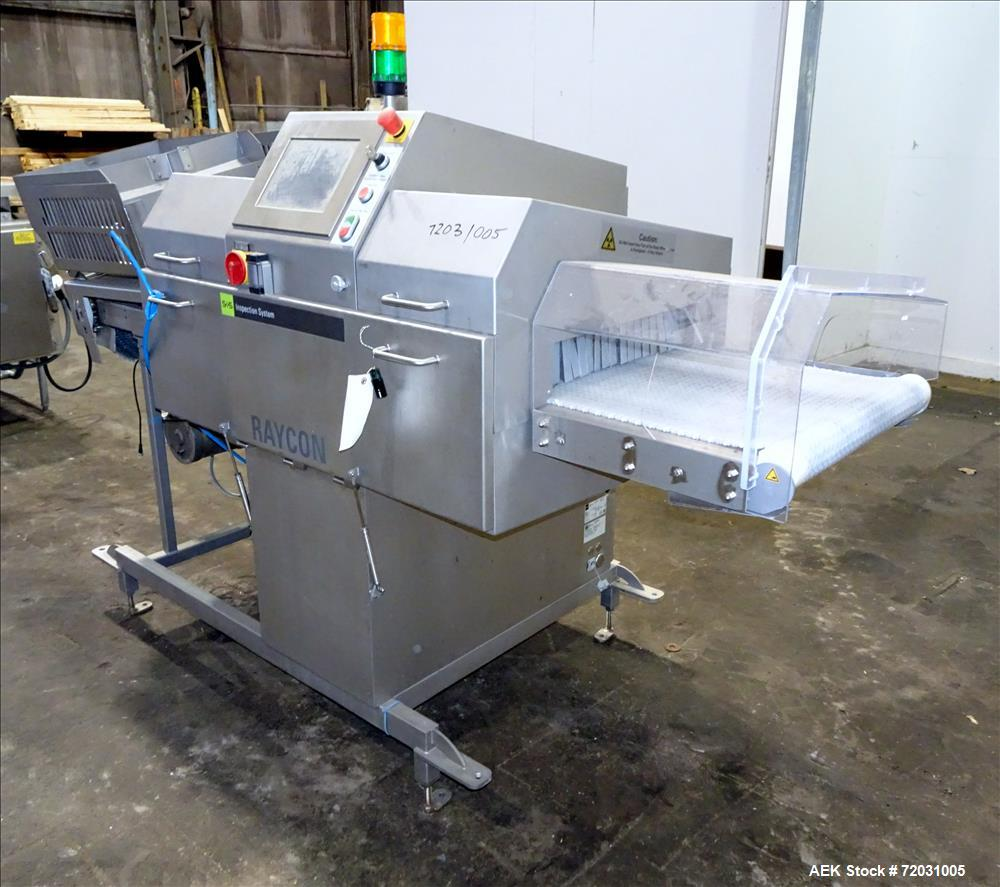 Used- Sesotec Raycon X-Ray Food Inspection System, Type 450/100 US-INT 50
