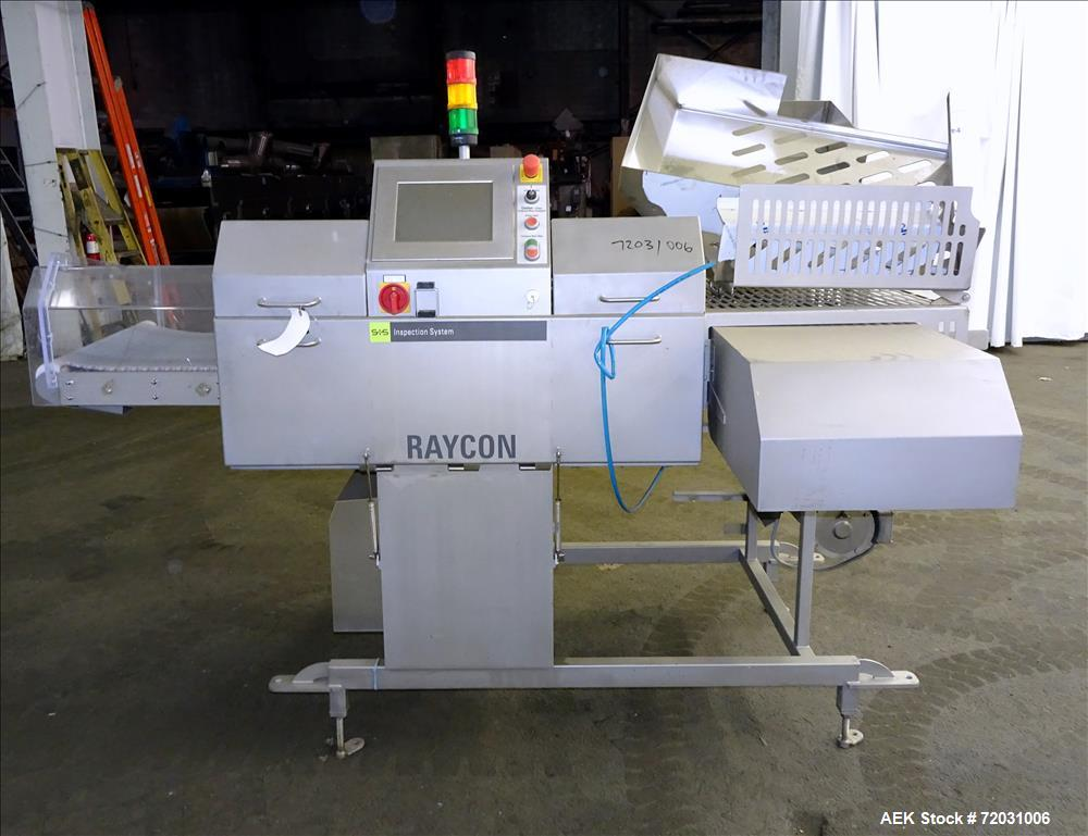 Used-Sesotec Raycon X-Ray Food Inspection System, Type 450/100 US-INT 50.  Serial # 11421018292-X.  Max Product Dimensions; ...