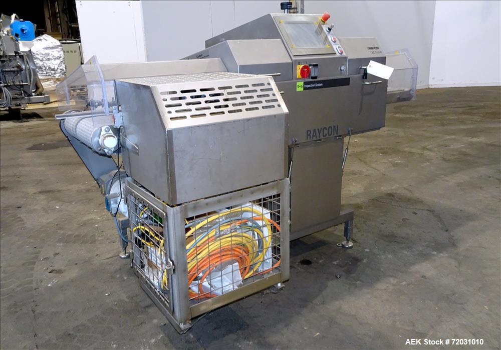 Used-Sesotec Raycon X-Ray Food Inspection System, Type 450/100 US-INT 50.  Serial # 11422018363-X.    Max Product Dimensions...