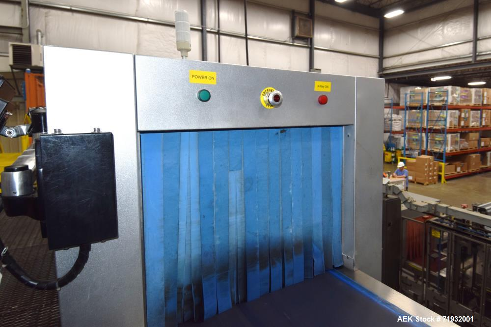 Used- Technik TXR-6080XH X-Ray Inspection System. Designed for a full range of contaminants inspection including metallic, n...