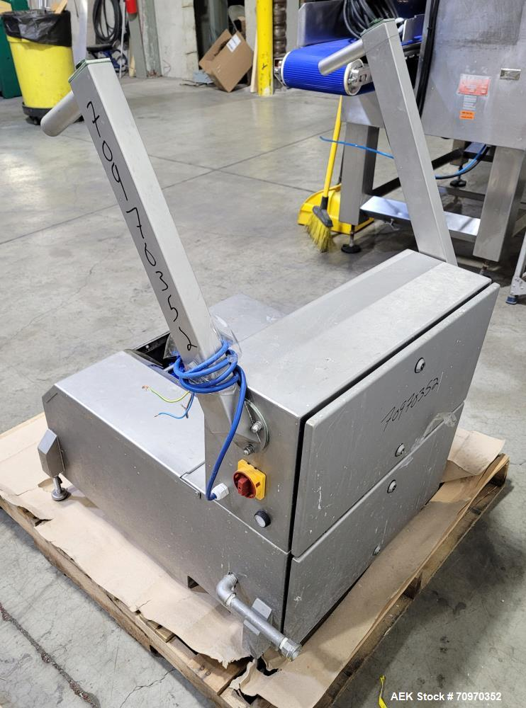 Used- Protech Motorised Shoe Washer Model AMSW10. Made of 304 stainless steel. 1/60/120v. Purchased for installation at infa...
