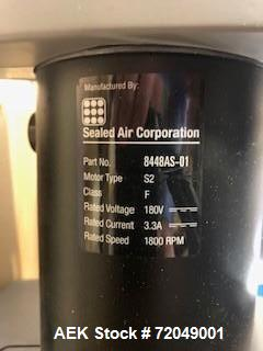 Used- Sealed Air Speedy Pack Systems