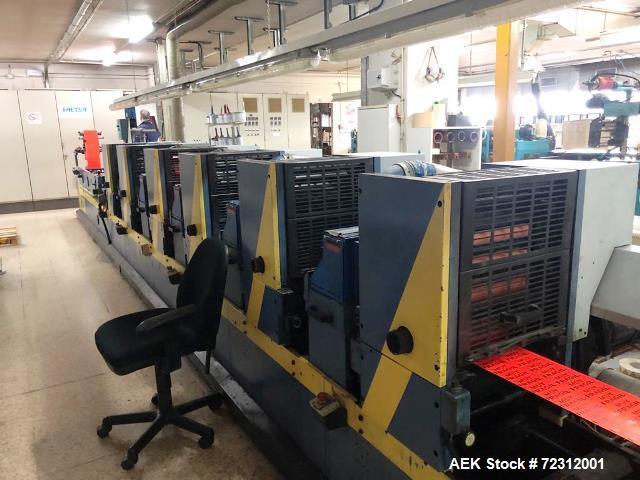 Used- Gallus T250 Label Printing Machine