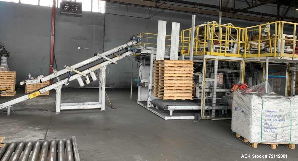 Used- Slidell Automatic Bag Palletizer