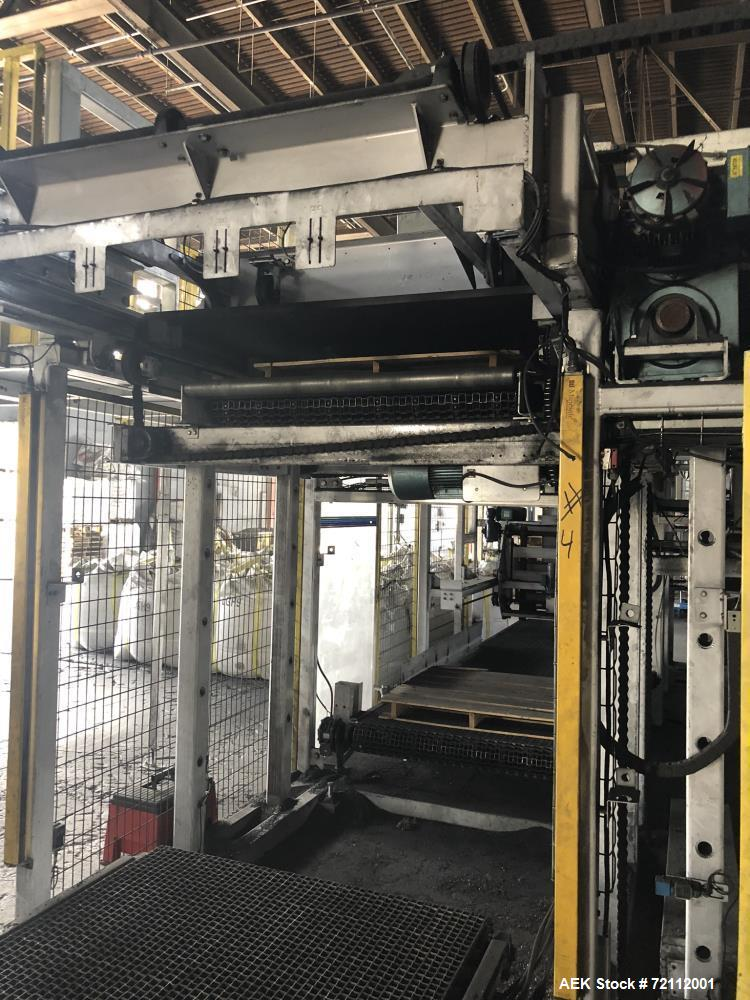 Used Slidell Automatic Bag Palletizer