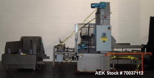 Used- ABC Packaging Model 72A Low Level Case Palletizer.