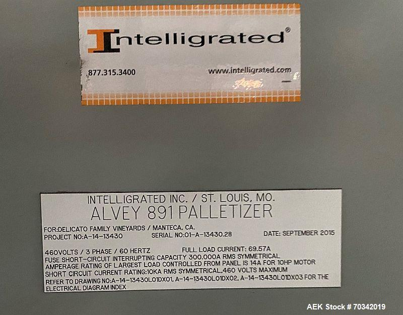 Used- Alvey Palletizer, Model 891