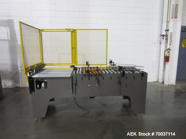 """Used- Columbia Low Level Case Palletizer for 40"""" x 48"""" GMA Style Pallets."""