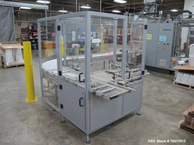 Used- Skinetta Pac-Systems PALTEQ 1400 Automatic Palletizer.