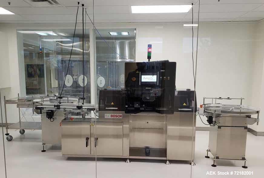 Used- Bosch VIS 500 Semi-Automatic Visual Inspection Machine