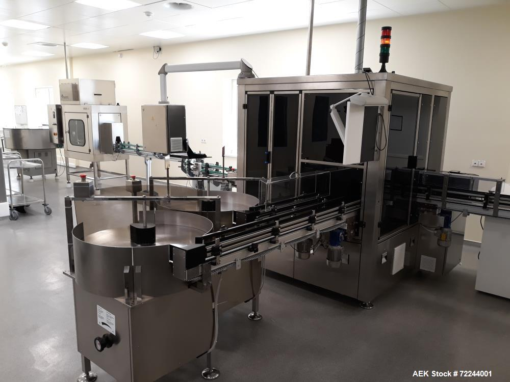 Used- Brevetti C.E.A S.p.A. Fully Automatic Optic Inspection Machine/Line/System