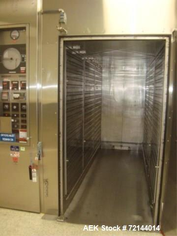 Used-Gruenberg Oven Company, Inc. T17HS241.11SS Granulation Drying Oven, Input: 400,000 BTU With Oven Control Panel. Include...
