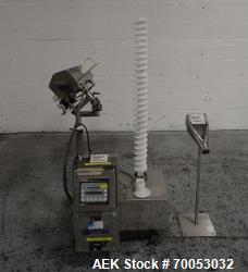 Used Pharma Tech deduster metal check combination, model PTGV1000ST, stainless steel construction, w...