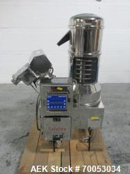 Used Pharmatech deduster metal detector combination unit, model Combi 500 ST, stainless steel produc...